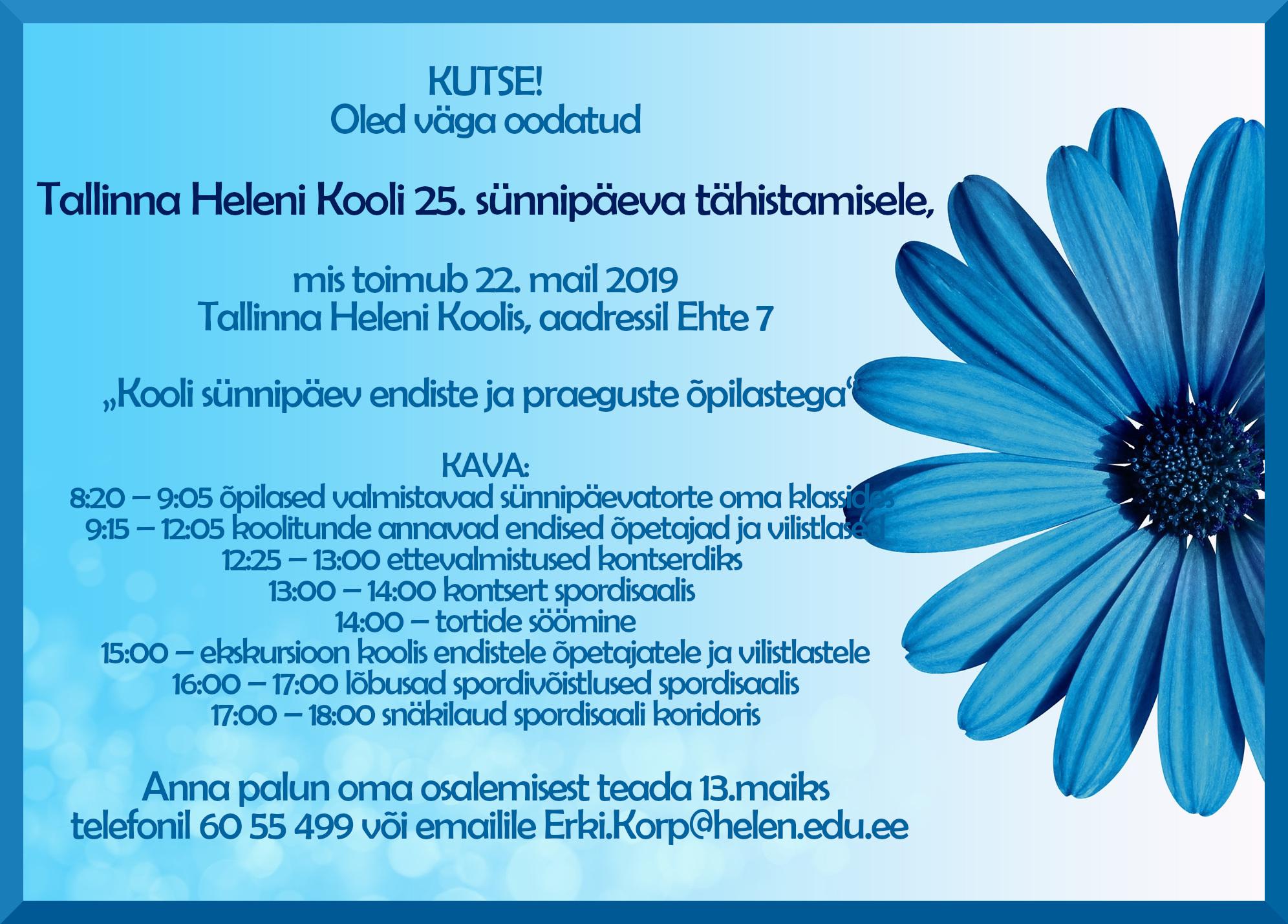 4109b3a8b9c Tallinna Heleni Kool